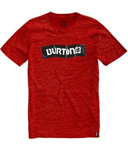 Burton Taped Slim Fit T-Shirt Heather Lava