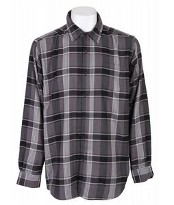 Burton Tech Flannel Shirt Black Metro Pld