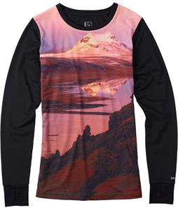 Burton Tech Baselayer Top Blotto Ridgeline