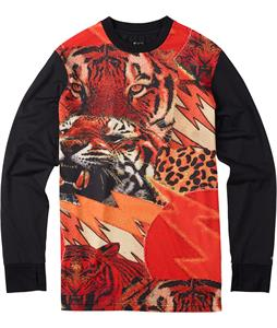 Burton Tech Baselayer Top Tight Like A Tiger!