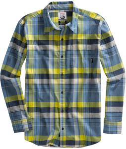 Burton Tech Flannel Swedish Blue Instinct Plaid