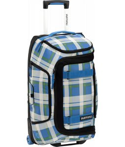 Burton Tech Light Duffel Travel Bag Jump Off Plaid