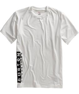 Burton Tech Shirt Bright White
