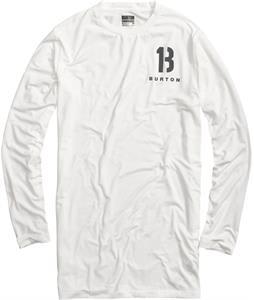 Burton Tech Tall L/S Baselayer Top Stout White