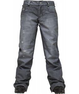 Burton The Jeans Snowboard Pants True Black Denim