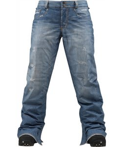 Burton The Jeans Snowboard Pants Blue Denim