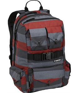 Burton The White Collection Backpack Cardinal Stripe 30L