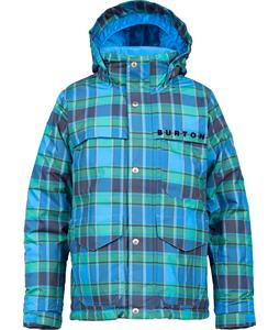 Burton Titan Snowboard Jacket Blue-Ray Switch Plaid
