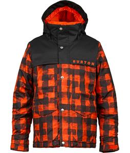 Burton Titan Snowboard Jacket Burner Buffalo Plaid