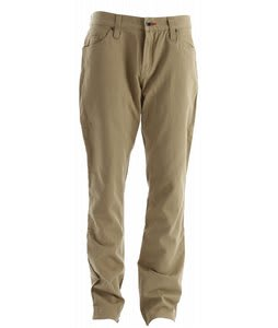Burton Toasty Lined Chino Pants Burlap
