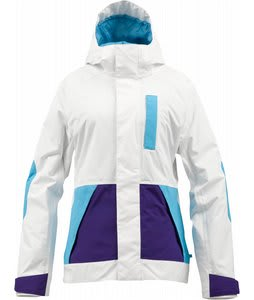 Burton Tonic Snowboard Jacket Bright White Colorblock