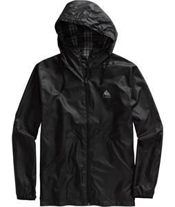 Burton Torque Jacket True Black/Smog Gutter Plaid Reverse
