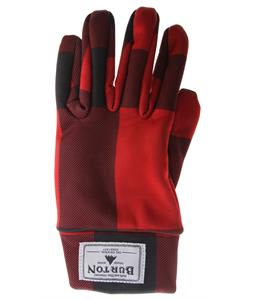 Burton Touch N Go Gloves Marauder Buffalo Plaid
