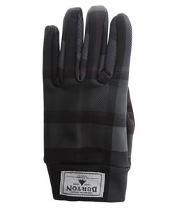 Burton Touch N Go Gloves True Black Riverside Plaid