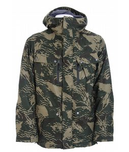 Burton GMP Traction Snowboard Jacket Resin Camo