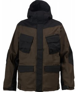 Burton Traction Snowboard Jacket Black/Havana