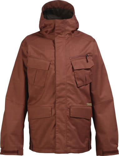 Burton Traction Snowboard Jacket Ox Blood