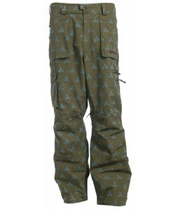 Burton Ronin Transition Snowboard Pants Martini Crest