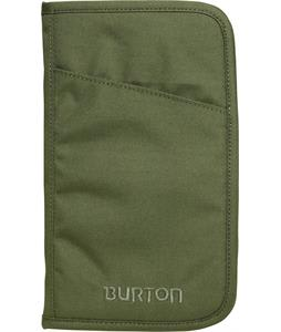 Burton Travel Case Bag Olive Texture Block