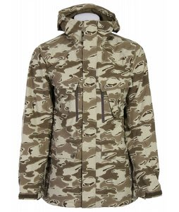 Burton Traction Snowboard Jacket Shadow Camo Print