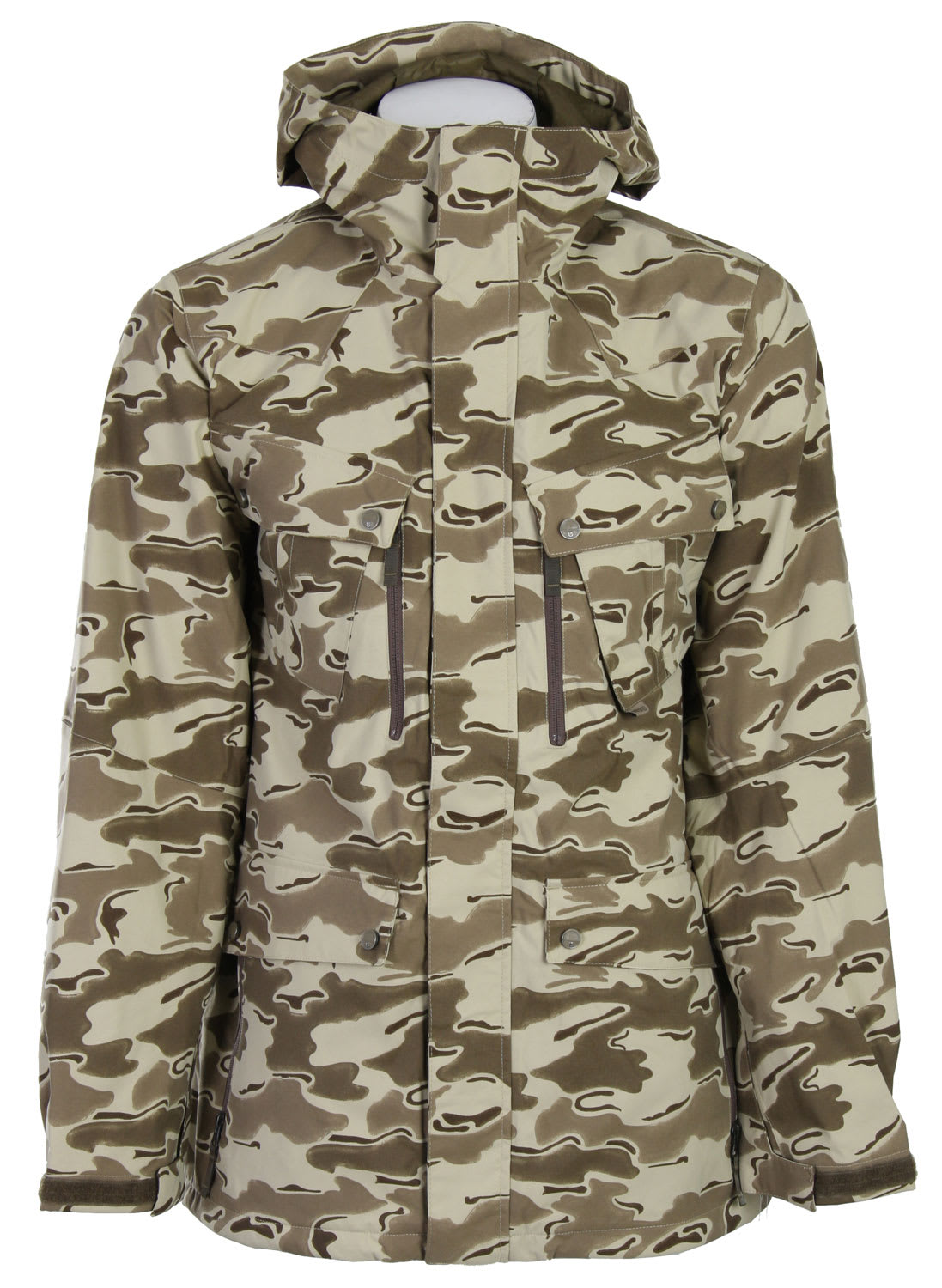 Shop for Burton Traction Snowboard Jacket Shadow Camo Print - Men's