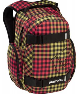 Burton Treble Yell Backpack Grunge Plaid