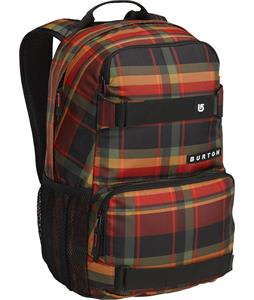 Burton Treble Yell Backpack Peak Plaid 21L