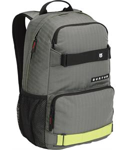 Burton Treble Yell Backpack Pewter Sunny Lime 21L