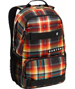 Burton Treble Yell Backpack Majestic Black Plaid