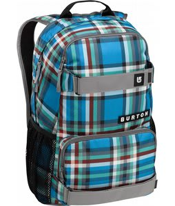 Burton Treble Yell Backpack Majestic Bombay Plaid