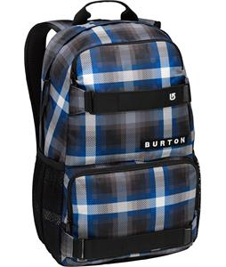 Burton Treble Yell Backpack Cobalt Springer Plaid 21L