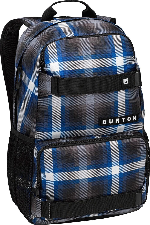 Burton Treble Yell Backpack Cobalt Springer Plaid 21L