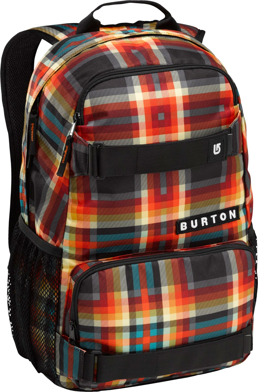 Burton Treble Yell Backpack Majestic Black Plaid 21L