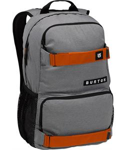Burton Treble Yell Backpack Pewter Heather 21L