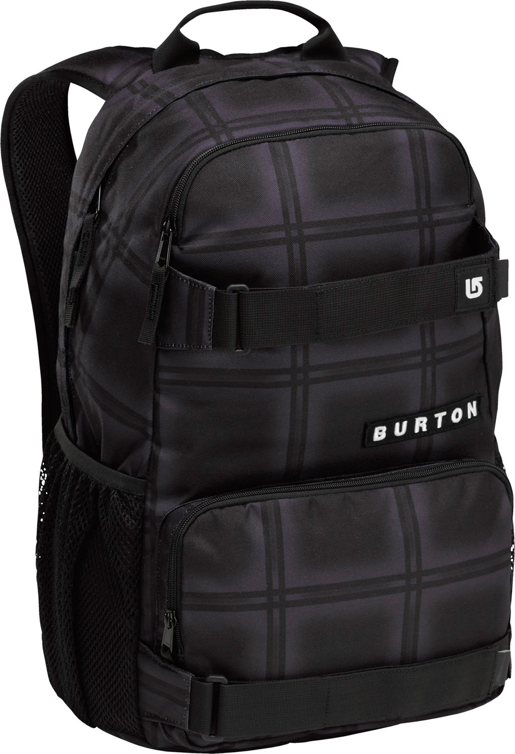 Burton Treble Yell Backpack Black Ghost Plaid