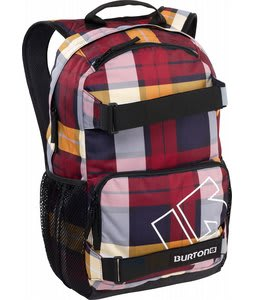 Burton Treble Yell Backpack Estate Plaid