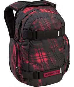 Burton Treble Yell Backpack Photocopied Plaid