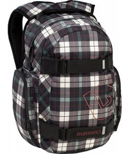 Burton Treble Yell Pack Tartan Plaid