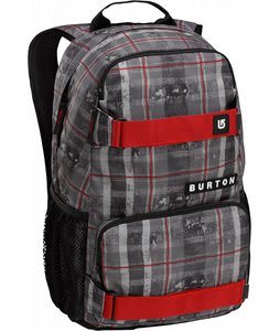 Burton Treble Yell Backpack Tattered Plaid