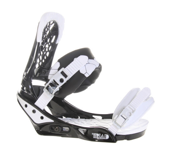 Burton Triad Snowboard Bindings Black