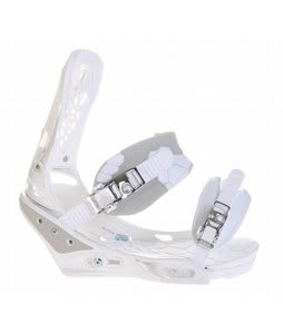 Burton Triad Snowboard Bindings White