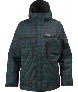 Burton TWC Bit O Heaven Snowboard Jacket Storm/Kingdom Plaid