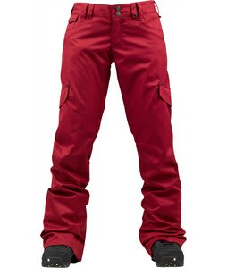 Burton TWC Boomsticks Snowboard Pants Red Handed