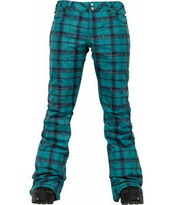 Burton TWC Candy Snowboard Pants Siren Shift Plaid