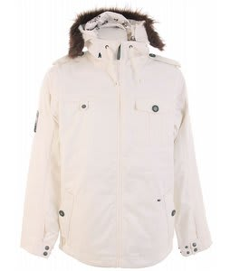 Burton Captain Tripps Snowboard Jacket Bright White