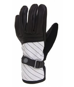 Burton The White Collection Gloves Bright White