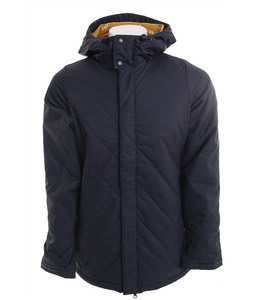 Burton TWC Cozy A-Line Snowboard Jacket Blue Nights
