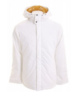 Burton TWC Cozy A-Line Snowboard Jacket Bright White