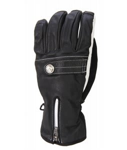 Burton The White Collection Gloves True Black