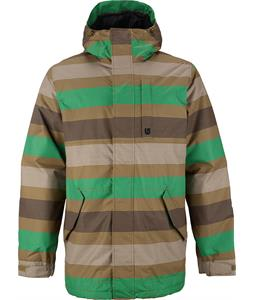 Burton TWC Greenlight Snowboard Jacket Hickory Micro Stripe
